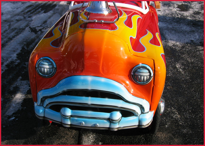 1949 Murray Sad Face Peddle Fire Truck Cassatto